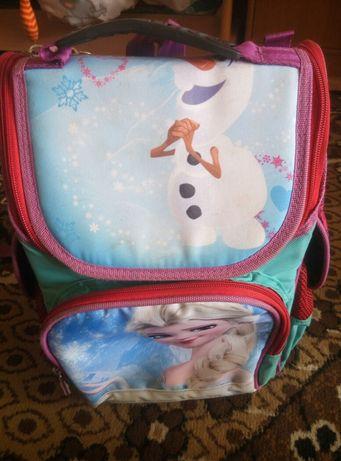 Детский ортопедический рюкзак, портфель Эльза для девочки 1-4 класс