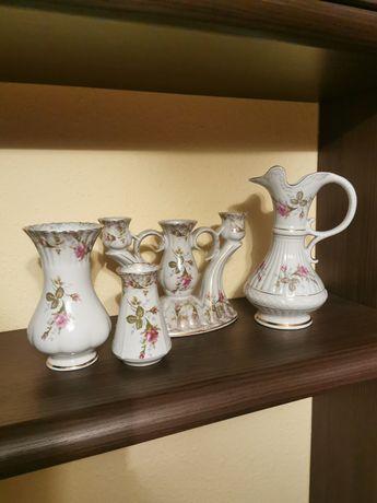 Porcelana Chodzież wazon świecznik
