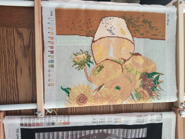 Rama do haftu drewniana regulowana