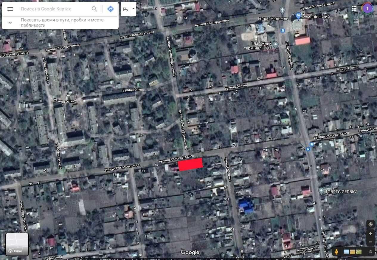 Продаж земельної ділянки в районі 12 школи