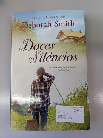 Doces Silêncios de Deborah Smith (portes incluídos)