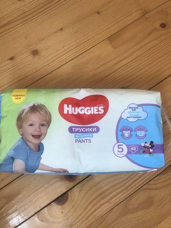 Памперси підгузники трусики Huggies 5