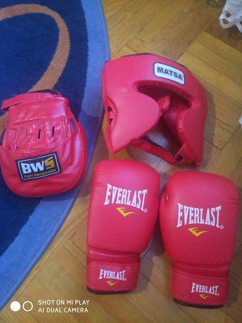 Боксерські, лапа, шлем, бинти