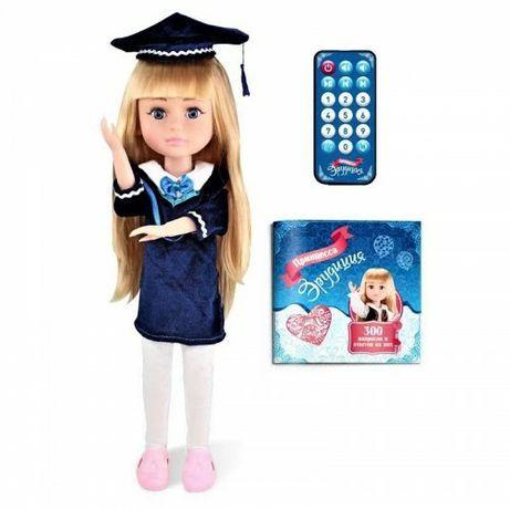 Шарнирная Интерактивная кукла Принцесса эрудиции 44 см Лялька на пульт