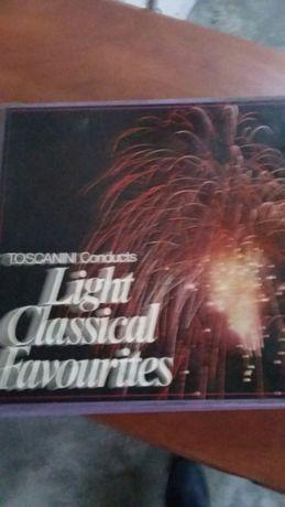 Coletânea de música clássica (10 lps)