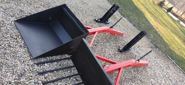 tur komplet ( widły łyżka) linka, tylni tuz ciągnika