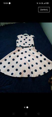 Sukienka elegancka wizytowa r. 146