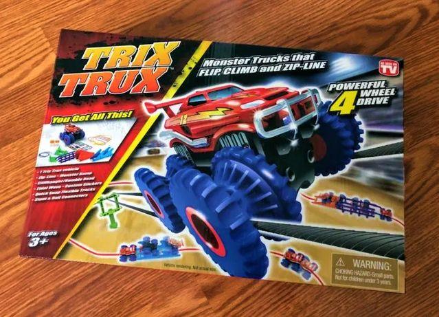 Trix Trux - Детский конструктор Трикс Тракс. Канатные гонки на машинке