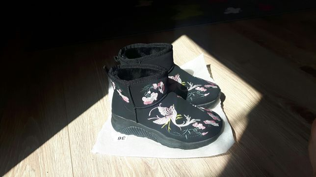 Buty damskie r. 36 buty zimowe śniegowce