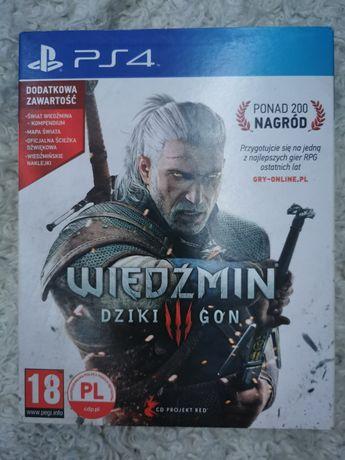 Wiedźmin Dziki Gon PS4