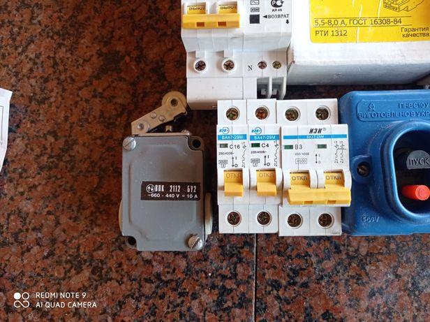 Концевой выключатель ВПК 2112 Б У2