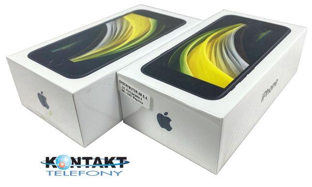 Nowy iPhone SE 64 i 128 GB 2020 2 gen. - Sklep Centrum Gdynia FV 23%