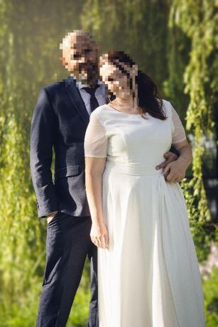 Suknia ślubna delikatna