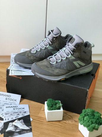 Трекинговая обувь ботинки женские Merrell Gore-Tex