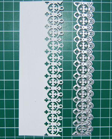 Wykrojnik - 'koronka brzegowa 14 cm'