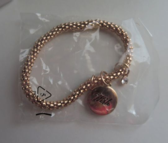 "Pulseira Avon Rose Gold ""Wish"""
