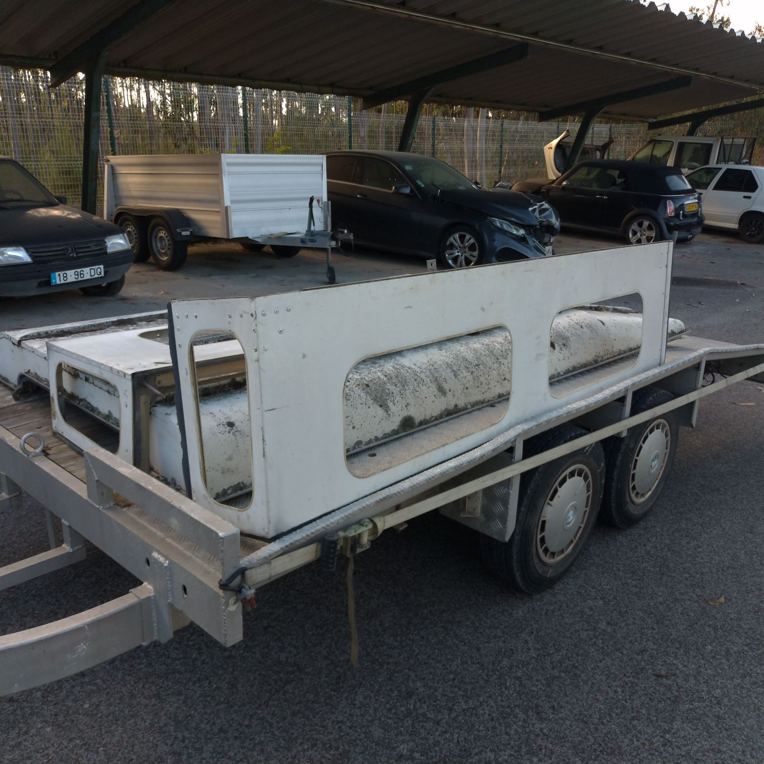 Capota hard top land Rover série III 109