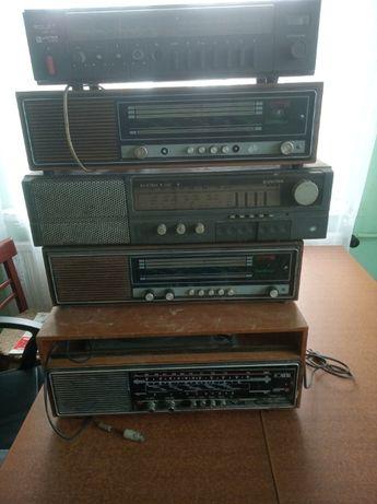 UNITRA diora stare radia komplet 5 sztuk