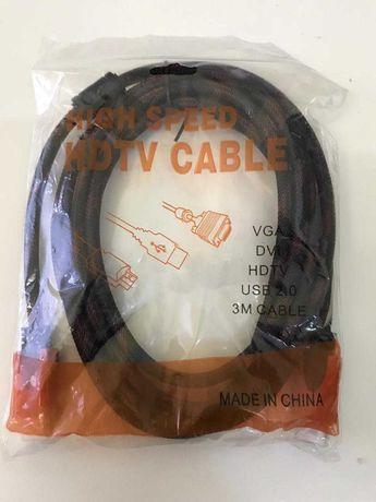 Кабель HDMI на HDMI (V1.4) с фильтром 3 м