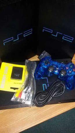 Consolas PS2 chipadas + acessórios