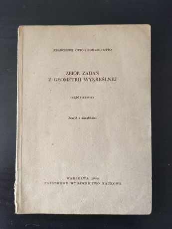 Zbiór zadań z geometrii wykreślnej 1955
