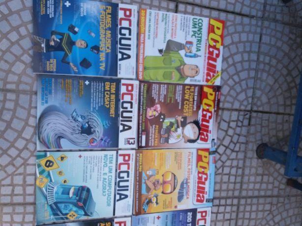 Revistas PC GUIA antigas como novas e DVD
