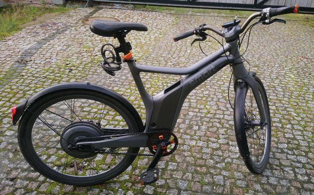 Rower elektryczny Mercedes Smart E-bike - 250 km przebieg, Wrocław
