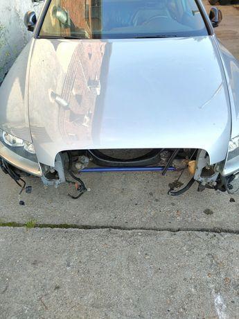 Audi A6 C6 lift maska pokrywa silnika oryginał alu części LX7V
