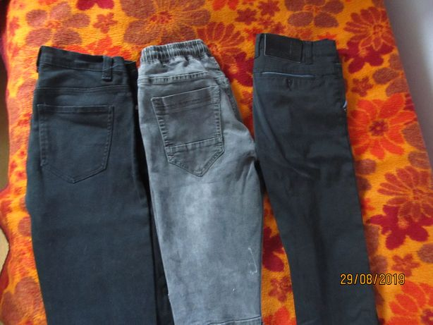 Spodnie chłopiec 164