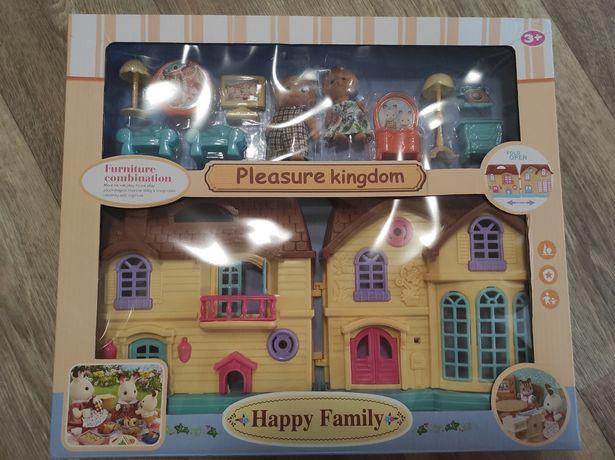 Кукольный домик флоксовые happy family аналог сильвания