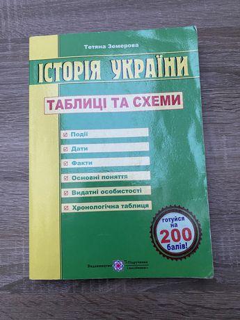 Посібник до ЗНО з історії Україним (Тетяна Земерова)