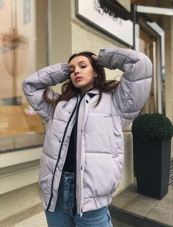 Тёплая куртка оверсайз на зиму. Мужская/женская. ТОП - КАЧЕСТВО!