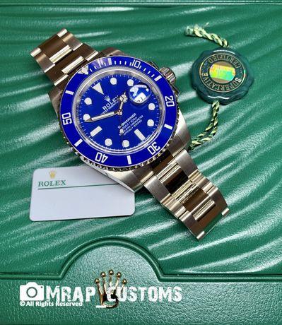 "Rolex Submariner Date ""Smurf"" Ref 116619LB"