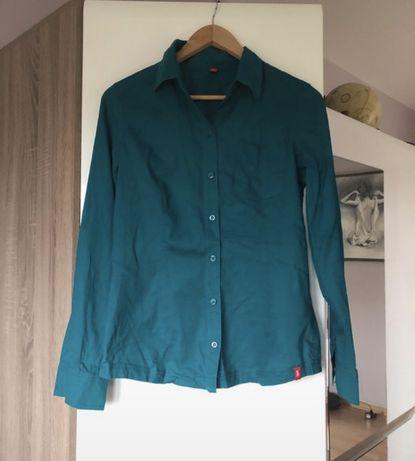 Bawełniana, morska koszula Esprit