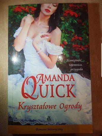 """""""Kryształowe ogrody"""" Amanda Quick"""
