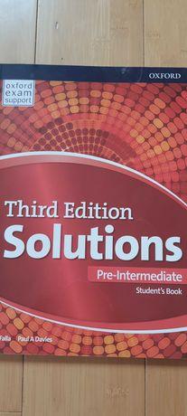Solutios, third edition, pre-intermediate, student's book.