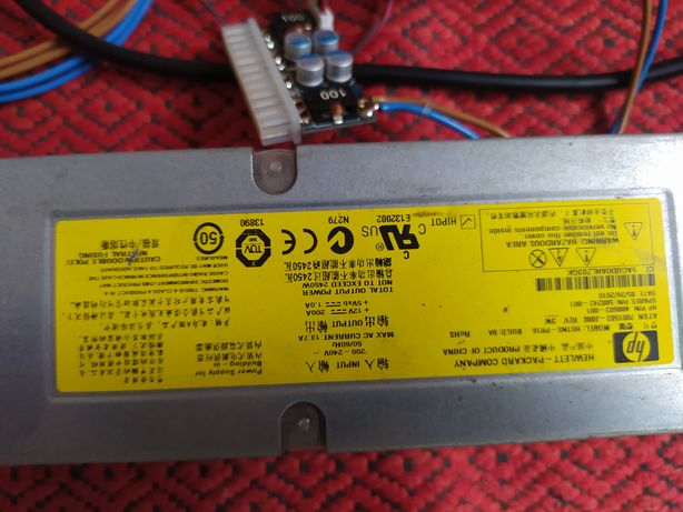 HP 2450W, серверний блок , 200A распаян