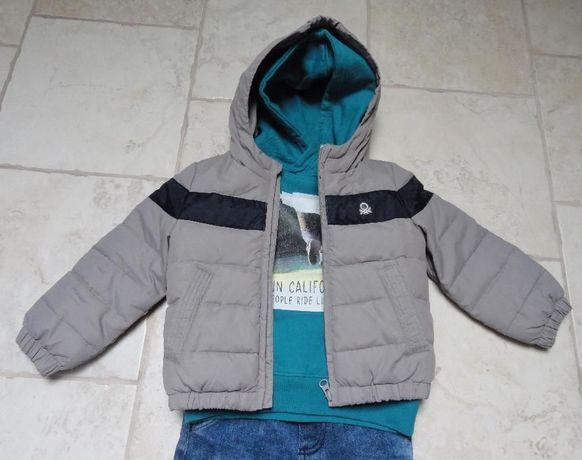 Benetton ulubiona kurtka puchowa dla malucha 18-24m