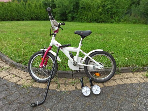 Rowerek dla dziecka 16cali, komplet
