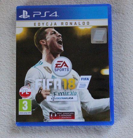 5Fifa 18 PS4 edycja Ronaldo stan idealny