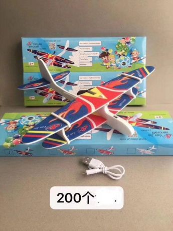 Надежный Самолет скоростной летающий с USB подзарядкой