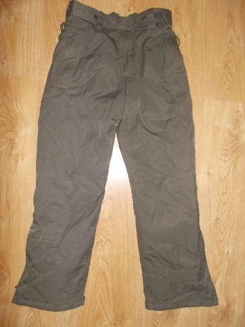 Damskie spodnie narciarskie Mountain khaki pas 80cm Wysyłka