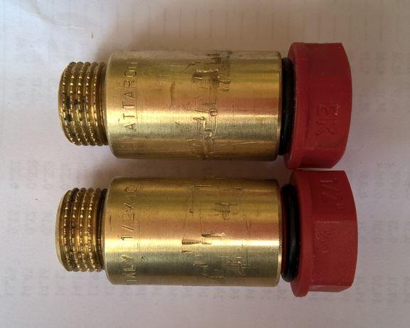 удлинители для водопроводных труб 1/2 40мм 2 штуки