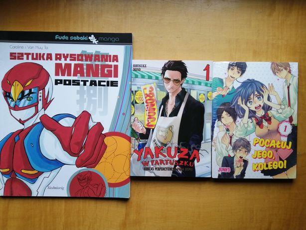 Manga.Pocałuj jego kolego.Yakuza w fartuszku.Sztuka rysowania mangi