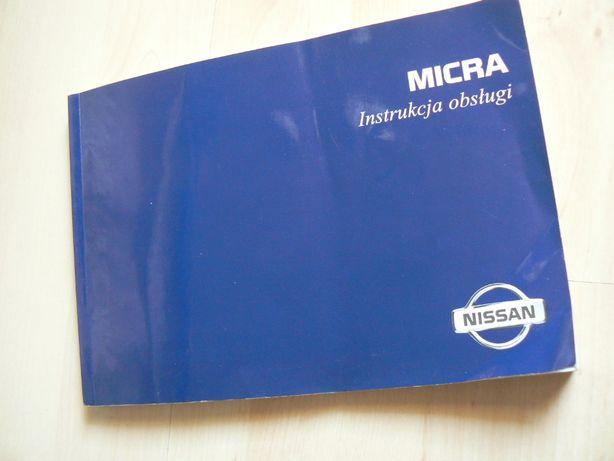 Instrukcja obsługi NISSAN MICRA