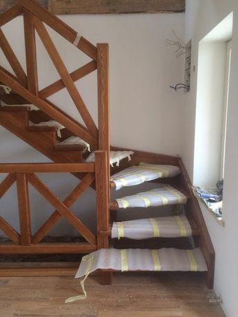 Лестницы деревянные. Деревянные лестницы под ключ.