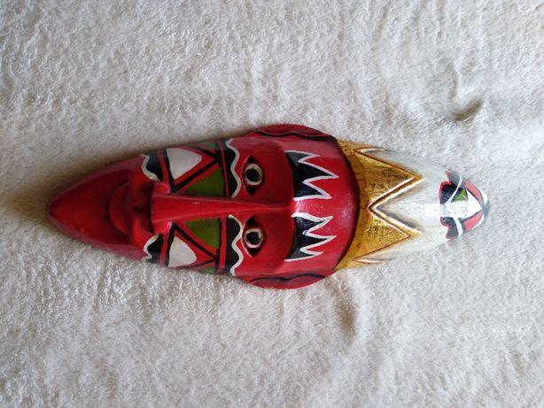 Afrykańska maska na ścianę