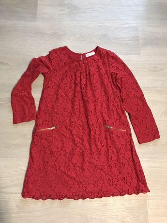 Кружевное платье hm