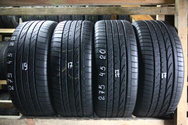 Шини літо 275/45R20 Bridgestone Dueler HP Sport 4шт 17,19рік