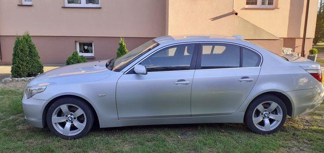 BMW e60 drzwi lewy tył titanisilber 354/7